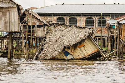 Photograph - Shanty Town Disaster by Allen Sheffield