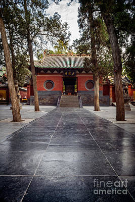 Shaolin Photograph - Shaolin Temple In Dengfeng China by Oleksiy Maksymenko