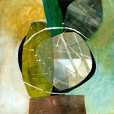 Abstracted Painting - Shape 13 by Jane Davies