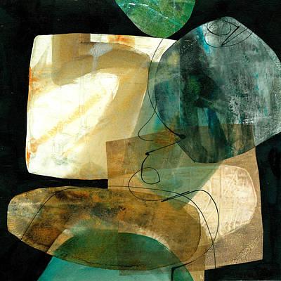 Shape Painting - Shape 4 by Jane Davies