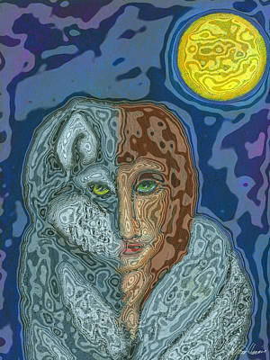 Digital Art - Shape Changer 2 by Diana Haronis