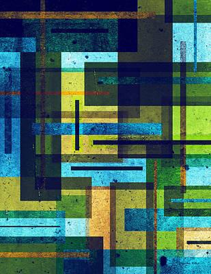 Impressionist Landscapes - Shape Shift by Shawna Rowe