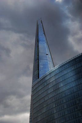 Photograph - Shard In The Clouds by Kristina Austin Scarcelli