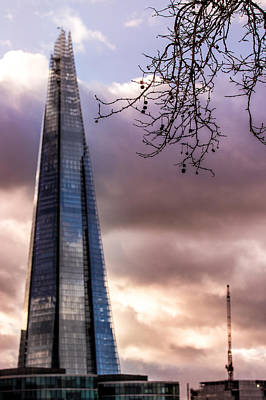 Photograph - Shard by Justin Albrecht
