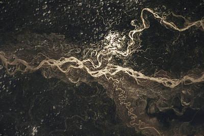 Sharda River Art Print