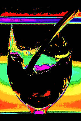 Pouring Wine Digital Art - Shards  by Marcie Sutton