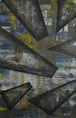 Puerto Rico Painting - Shards Of Glass by Maurice Dilan