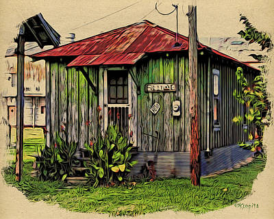 Sharecroppers Shack Ms Delta Art Print