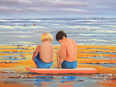 Painting - Sharing Is Caring by Bill Holkham