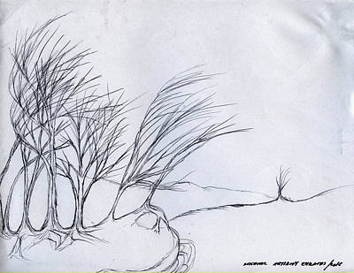 Drawing - Sharing Roots by Michael Anthony Edwards