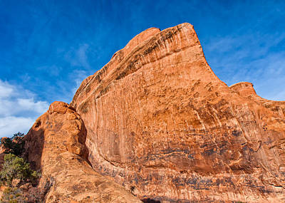 Photograph - Shark Fin Of Rock by John M Bailey