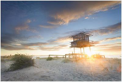 Photograph - Shark Tower 2 by Steve Caldwell