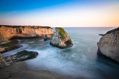 California Ocean Photograph - Shark Fin Cove  by Justin Matoi