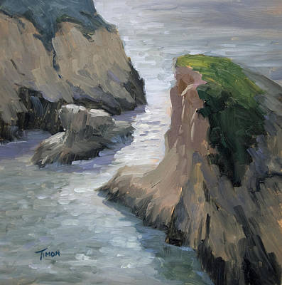 Painting - Sharktooth Gap by Timon Sloane