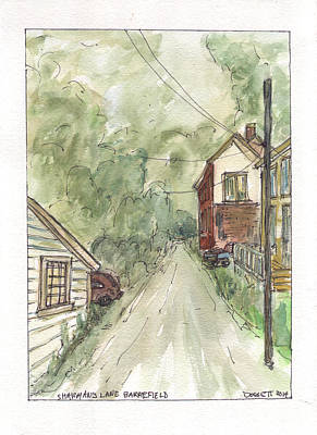 Painting - Sharman's Lane by David Dossett