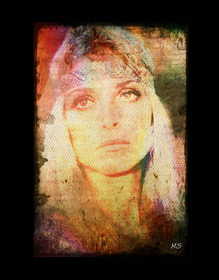 Digital Art - Sharon Tate - Angel Lost by Absinthe Art By Michelle LeAnn Scott