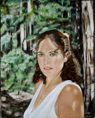 Sharon Valterria Art Print