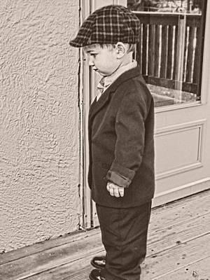 Photograph - Sharp Dressed Man by Kristie  Bonnewell