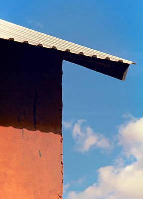 Overhang Photograph - Sharp Edge by Odd Jeppesen