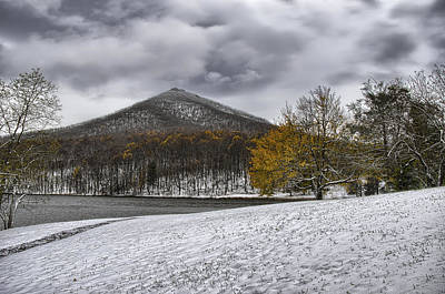 Photograph - Sharp Top Mtn In Virginia by Steve Hurt