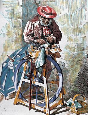 Sharpener Street Art Print by Prisma Archivo