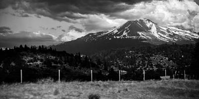 Shasta Drama Art Print by Chris McKenna