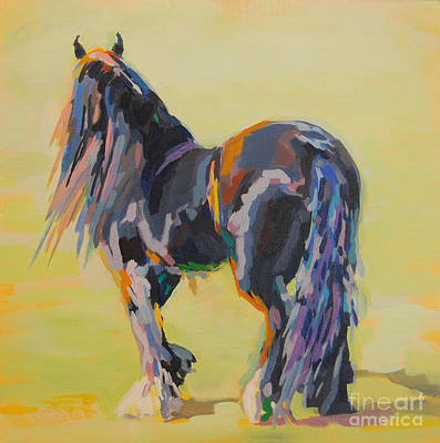 Gypsy Painting - Shasta Solomon by Kimberly Santini