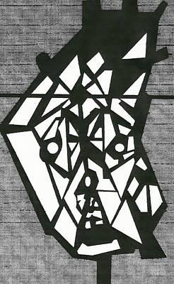 Shatterd Art Print by David King