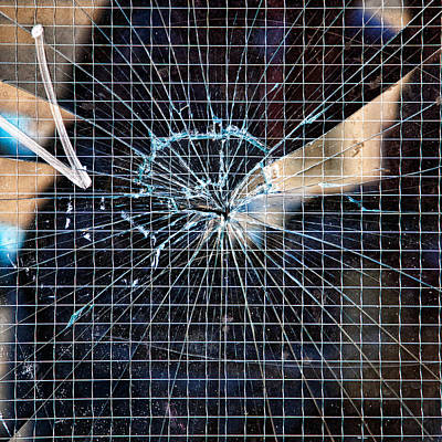 Featured Images Photograph - Shattered But Not Broken by Peter Tellone
