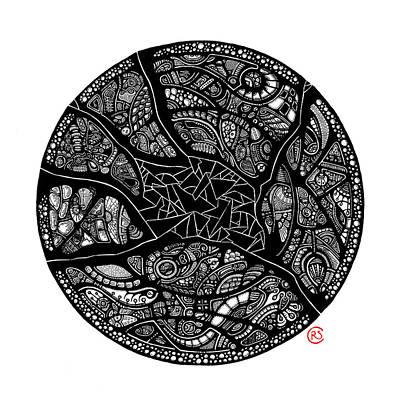Shattered Core Art Print