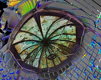 Photograph - Shattered Cupola by Gregory Scott