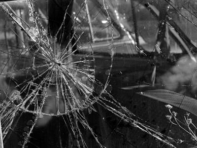 Daysray Photograph - Shattered by Fran Riley