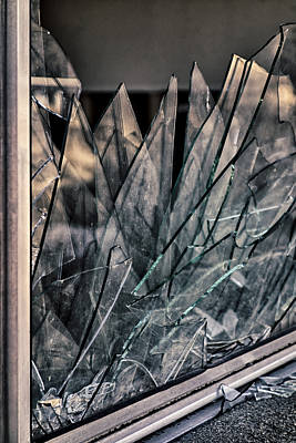 Photograph - Shattered by Loree Johnson