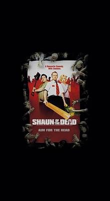 Walking Dead Digital Art - Shaun Of The Dead - Poster by Brand A