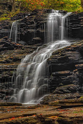 Photograph - Shawnee Falls by Susan Candelario