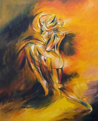 Painting - She Asunder by Joseph York