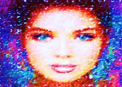 Digital Art - She by Catherine Lott