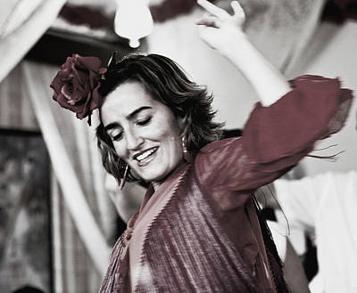 Photograph - She Dances At The Feria by Lorraine Devon Wilke