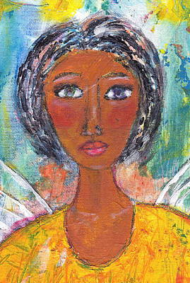Painting - She Earned Her Wings by Brenda Robinson