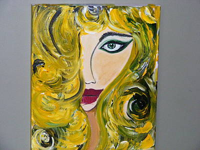 She Insists Art Print by Kim St Clair