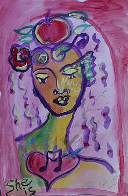 Painting - She Is by Katie Ketchum