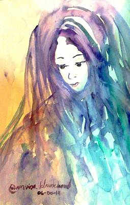 Painting - She Is Name Nisarine by Wanvisa Klawklean