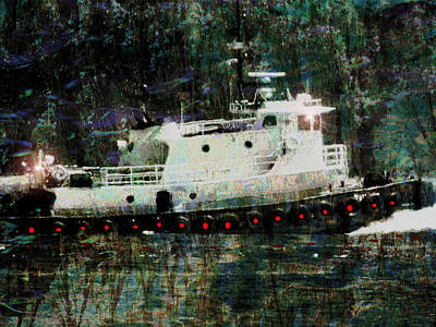 Photograph - She Of The Sea - Tugboat by Marie Jamieson