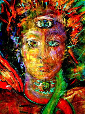 Painting - Third Eye by Shakti Brien