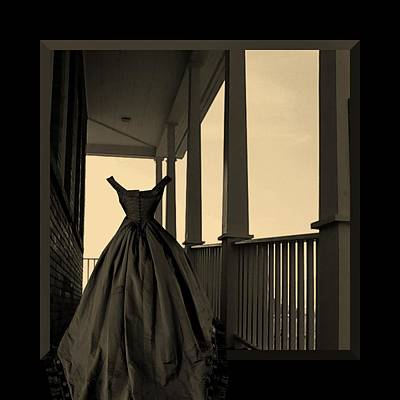 Photograph - She Walks The Halls by Barbara St Jean