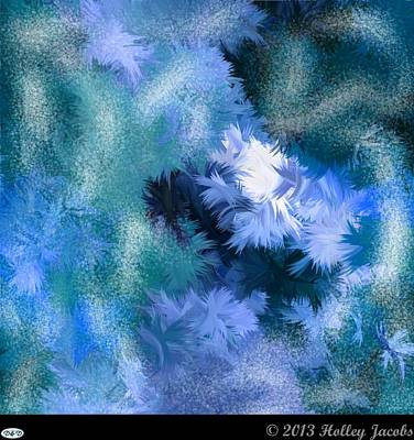 Digital Art - She Will Be Loved Blue by Holley Jacobs