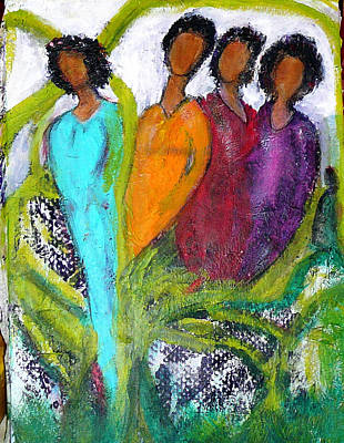 Painting - She Wondered by Brenda Robinson