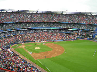 New York Baseball Parks Photograph - Shea Stadium by Georgia Fowler