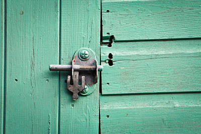 Shack Photograph - Shed Lock by Tom Gowanlock