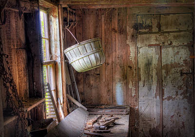 Photograph - Shed by Mikael Carstanjen